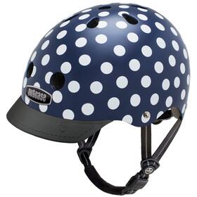 Nutcase Street Helmet Navy Dots